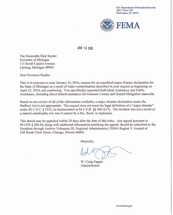 Fema Appeal Letter Template Fresh Stafford Act assistance and Acts Of Terrorism