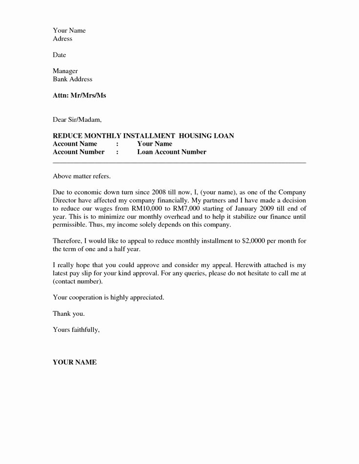 Fema Appeal Letter Template Luxury Business Appeal Letter A Letter Of Appeal Should Be