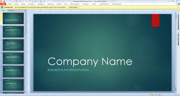 Film Business Plan Template Best Of Business Consulting Template for Powerpoint 2013