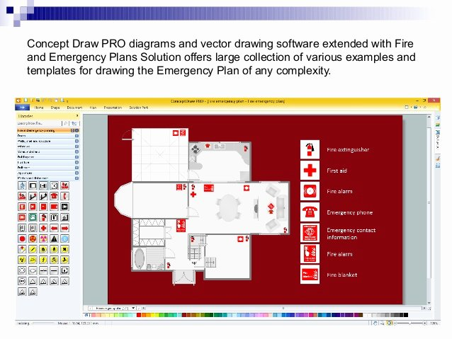 Fire Department Pre Plan Template Awesome Fire Safety Plan In A Building