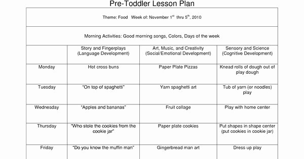 Fire Department Pre Plan Template Fresh Creative Curriculum Blank Lesson Plan