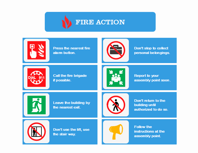 Fire Department Pre Plan Template New Fire Action Plan
