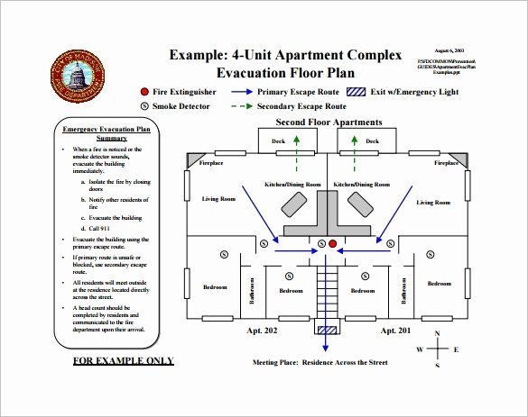 Fire Escape Plan Template Awesome 10 Evacuation Plan Templates Google Docs Ms Word