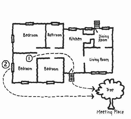Fire Escape Plan Template Elegant Fire and Life Safety Education Fire Escape Plans