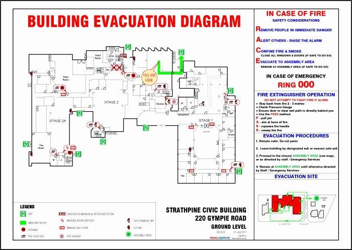 Fire Escape Plan Template Elegant Free Emergency Evacuation Floor Plan Template Carpet