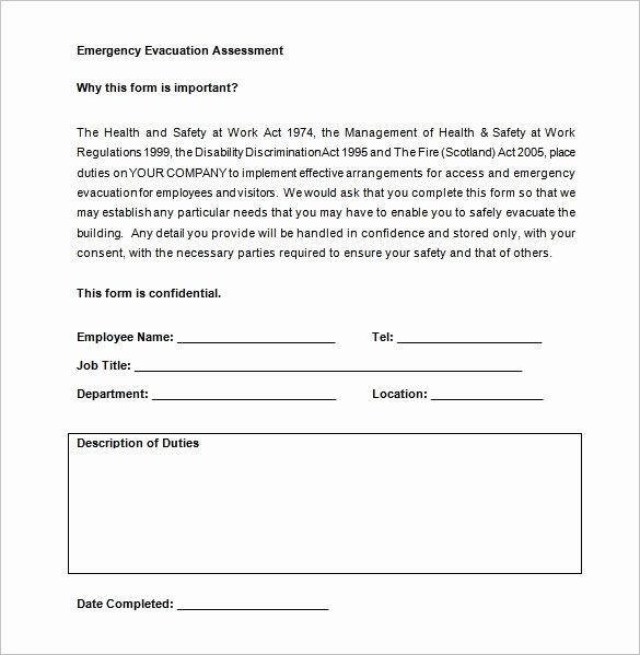 Fire Escape Plan Template New 12 Evacuation Plan Templates Google Docs Ms Word