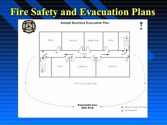 Fire Escape Plan Template Unique Church Emergency Evacuation Plan Template Best S