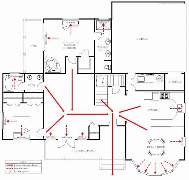Fire Escape Plan Template Unique Evacuation Plan How to Prepare Make A Plan Examples