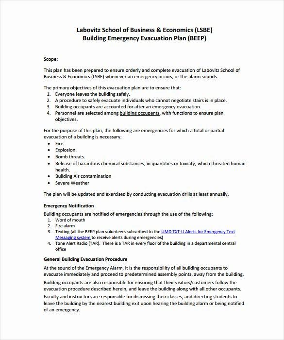 Fire Evacuation Plan Template Beautiful 12 Evacuation Plan Templates Google Docs Ms Word