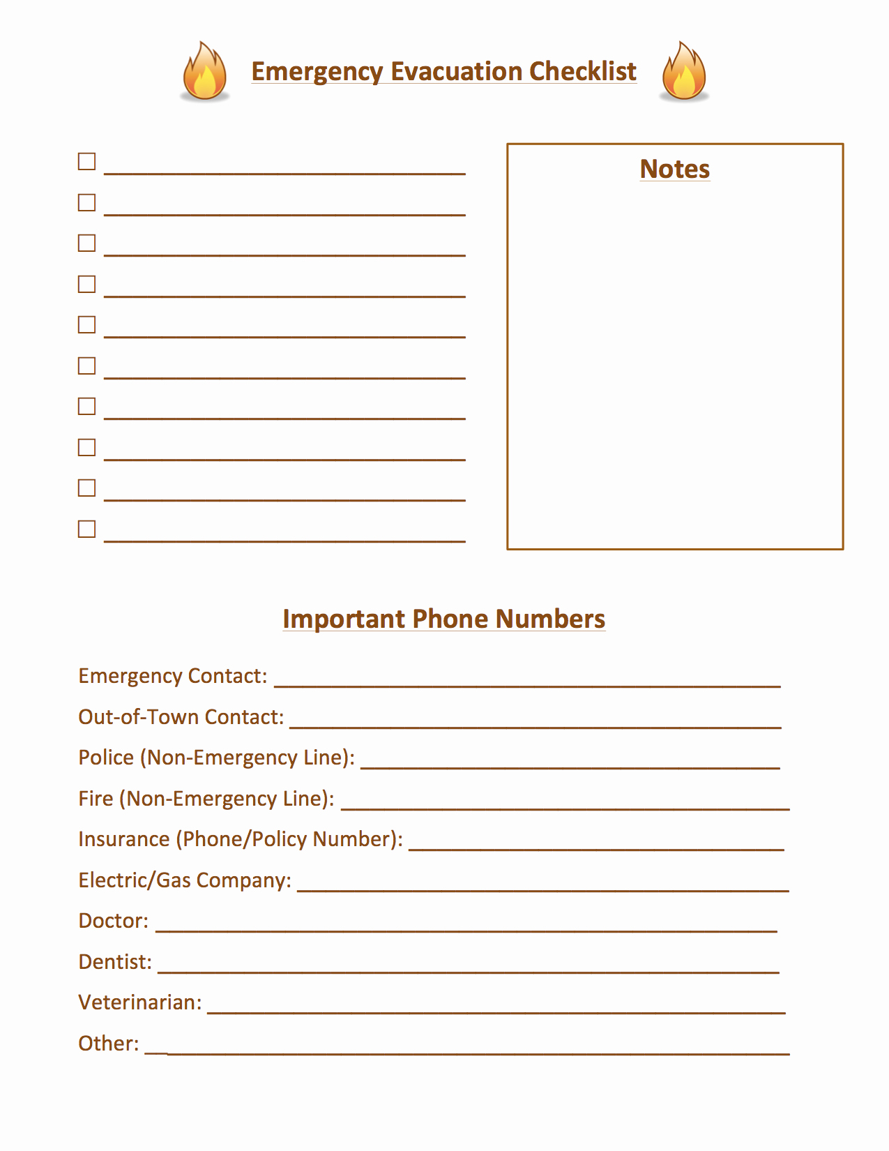 Fire Evacuation Plan Template Inspirational Tutorial