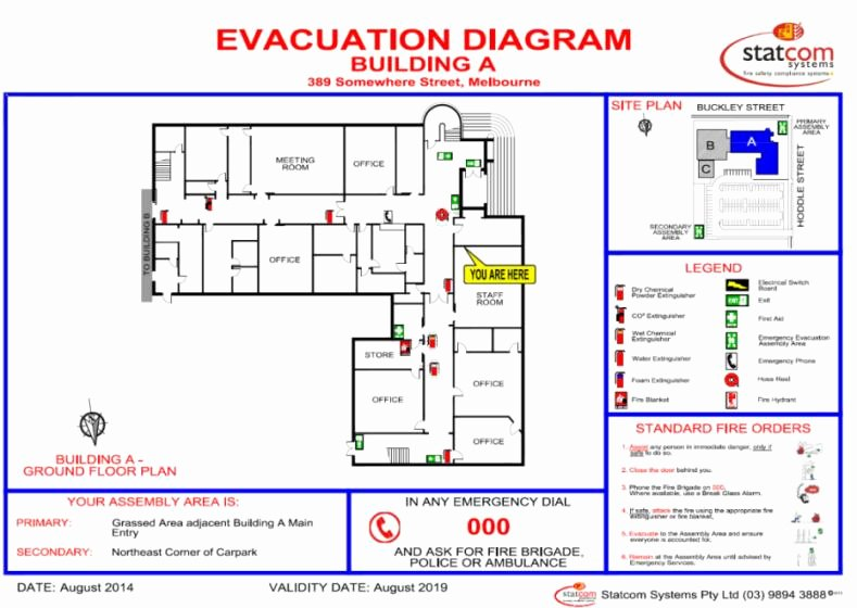 Fire Evacuation Plan Template Luxury Best S Of Emergency Evacuation Drill Debriefing