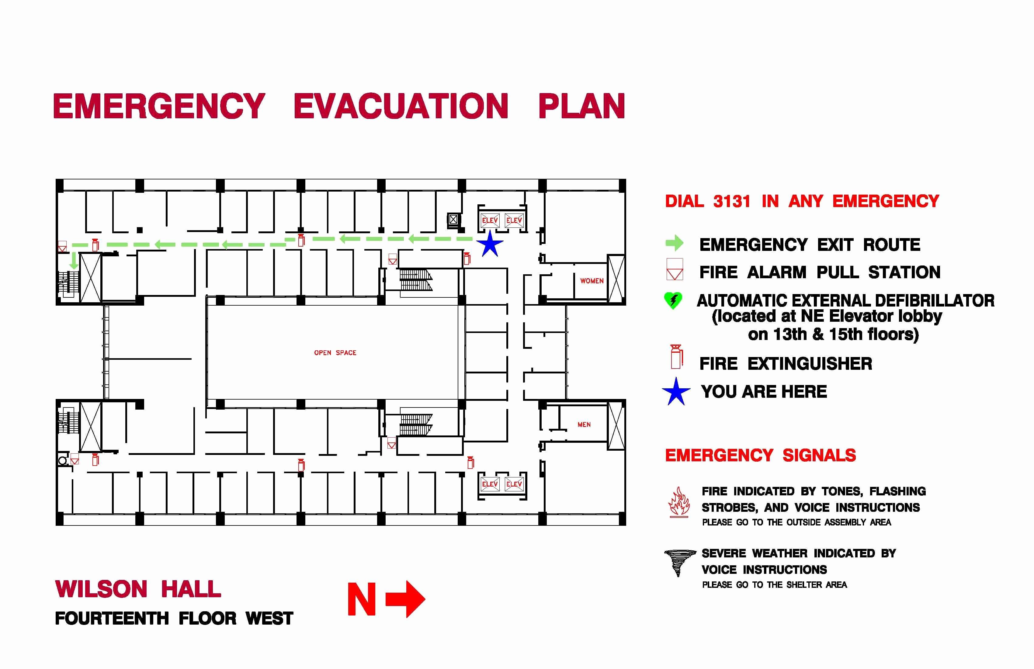 Fire Evacuation Plan Template New Ppd