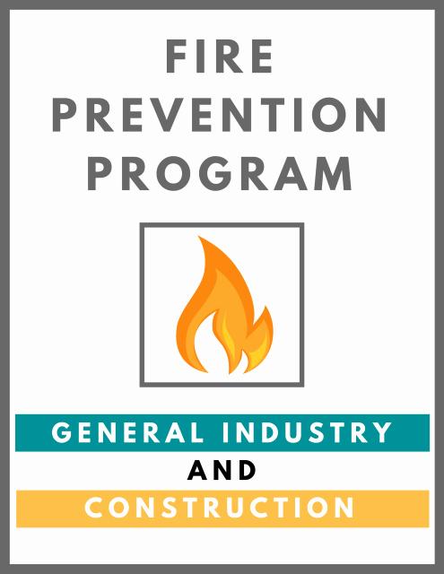 Fire Prevention Plan Template Unique Fire Prevention Plan Template