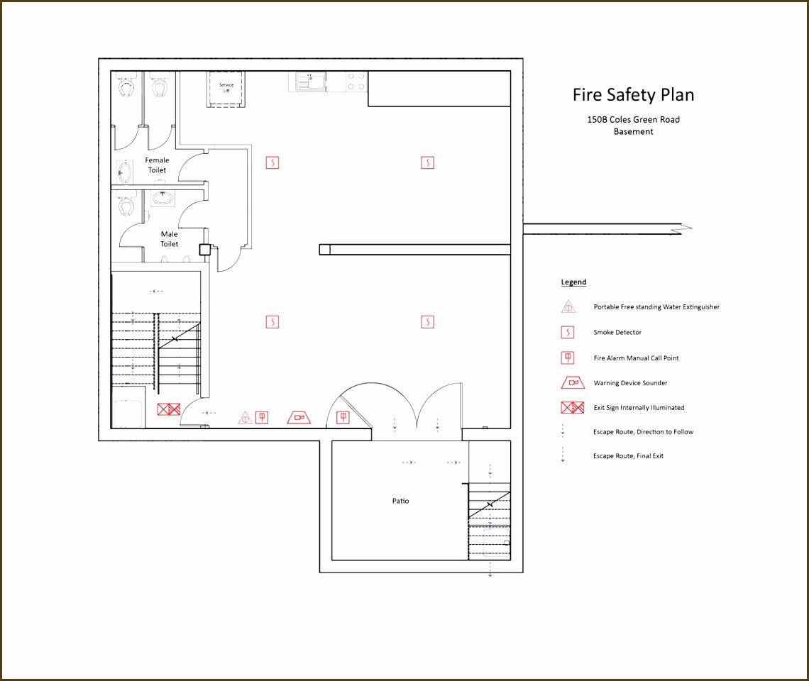 Fire Safety Plan Template Fresh 20 Fire Safety Plan Template Uk