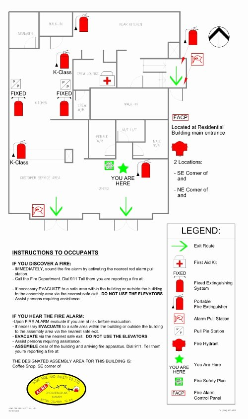 Fire Safety Plan Template Inspirational Fire Alarm Symbols Template to Pin On Pinterest
