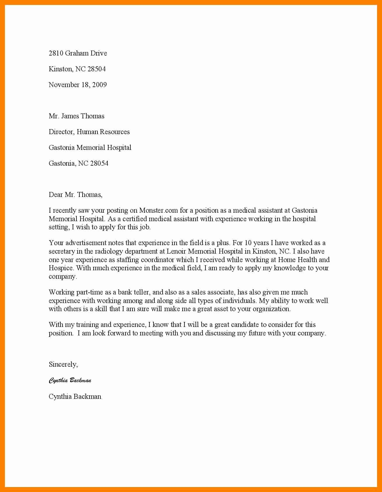 Firefighter Letter Of Recommendation Best Of 10 Volunteer Coverletter
