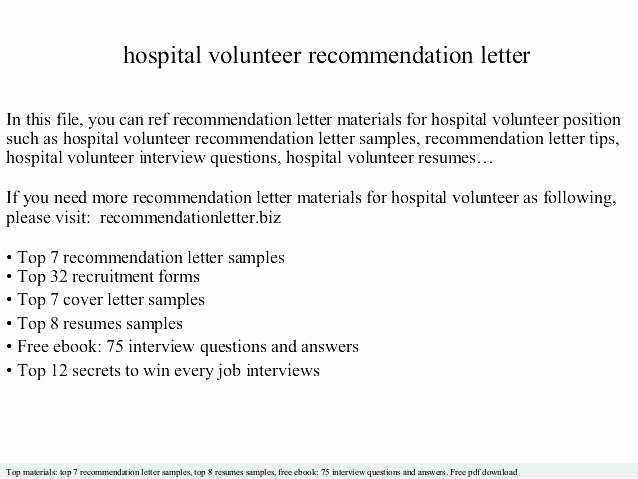 Firefighter Letter Of Recommendation Fresh Volunteer Cover Letter Sample Volunteer Letters Samples