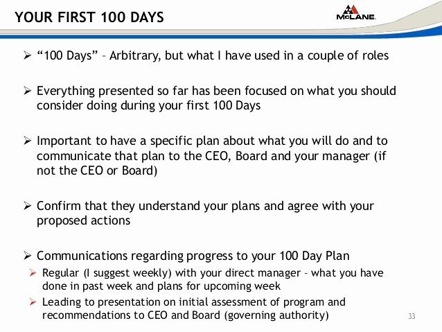 First 100 Days Plan Template Luxury [p3] Creating A Pliance Program From Scratch Scce