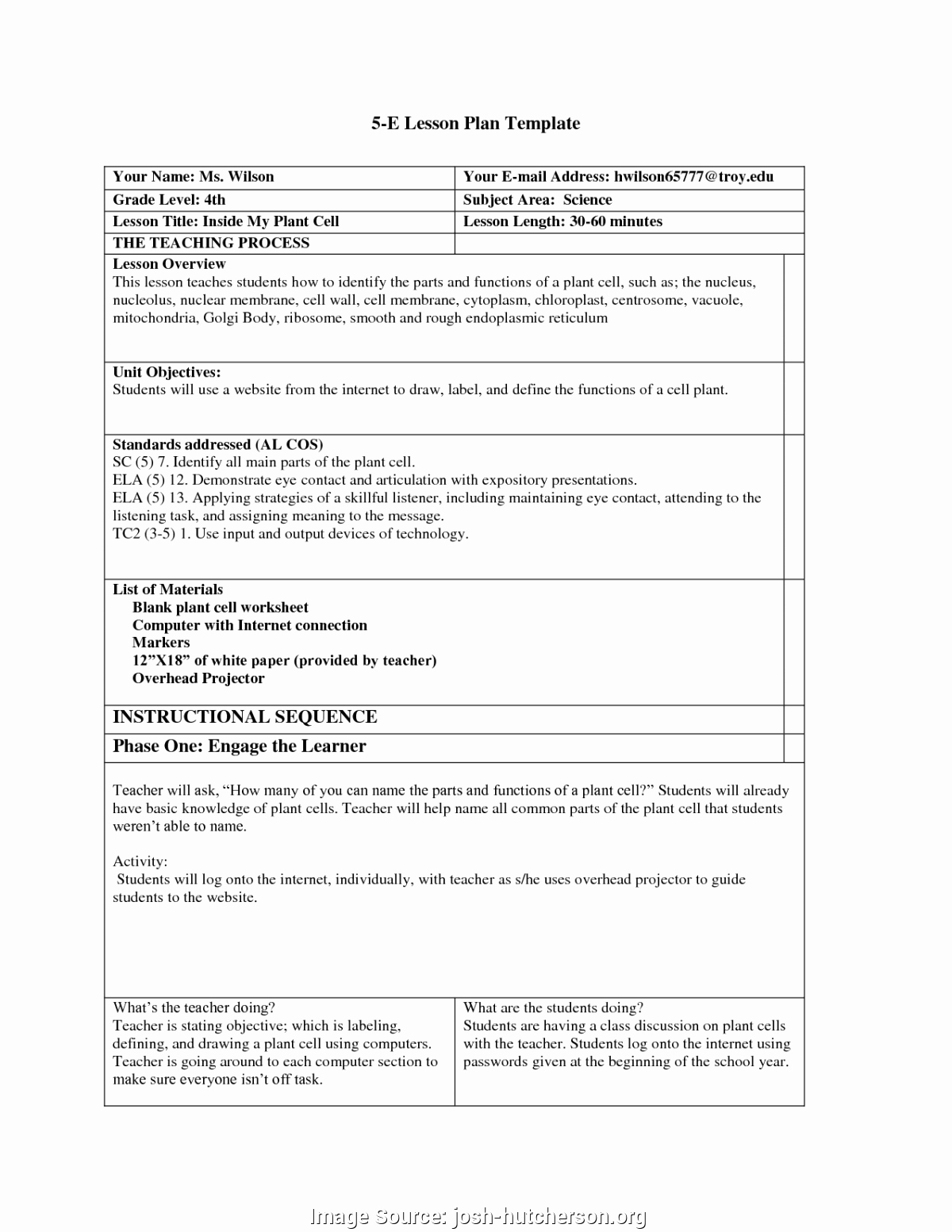 Five E Lesson Plan Template Inspirational Briliant Advertising Lesson Plan Advertising Lesson Plans