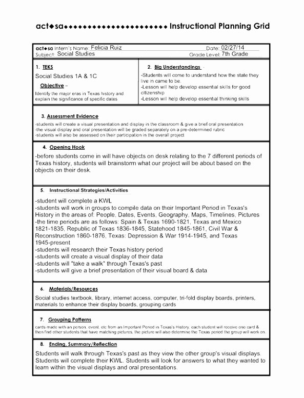 Five E Lesson Plan Template Luxury 10 5e Model Lesson Plan Template Eiraa