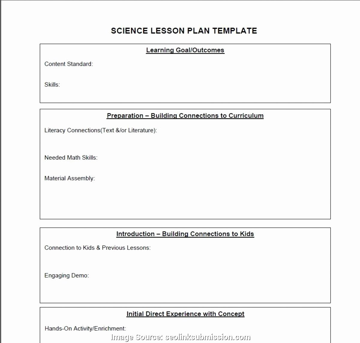 Five E Lesson Plan Template Luxury Best 5e Lesson Plan Science Template 7 5 E Lesson Plan