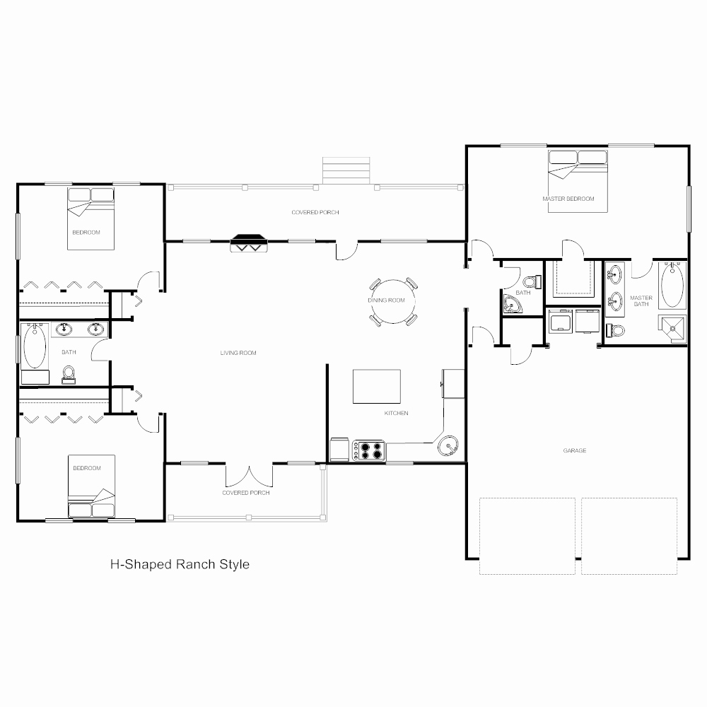 Floor Plan Template Word Lovely Floor Plan Templates Draw Floor Plans Easily with Templates