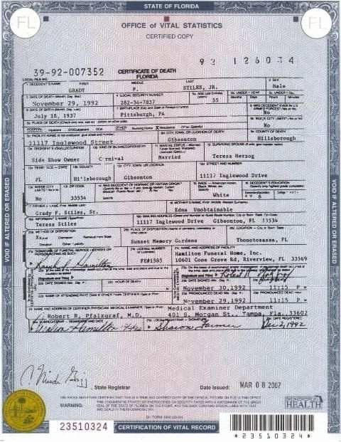 Florida Death Certificate Sample Beautiful Ghana Death Certificate Sample and 10 Lovely Death