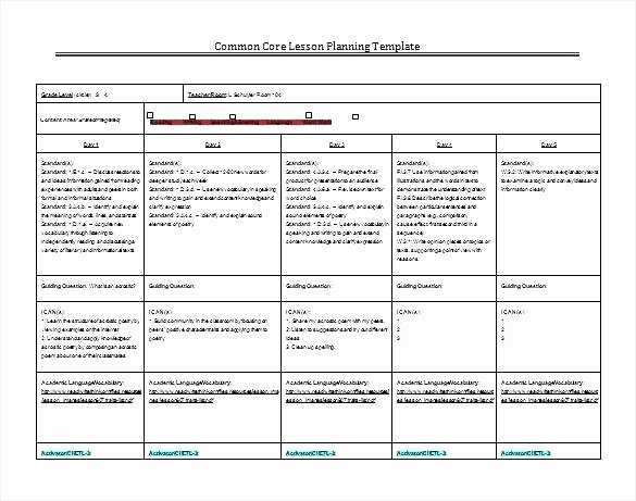 Florida Lesson Plan Template Unique Florida Lesson Plan Template