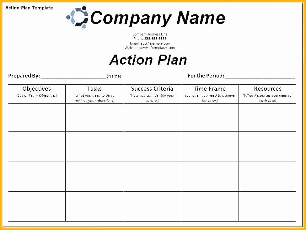 Fmcsa Corrective Action Plan Template Lovely Corrective Action Plan Template Free Action Plan Template