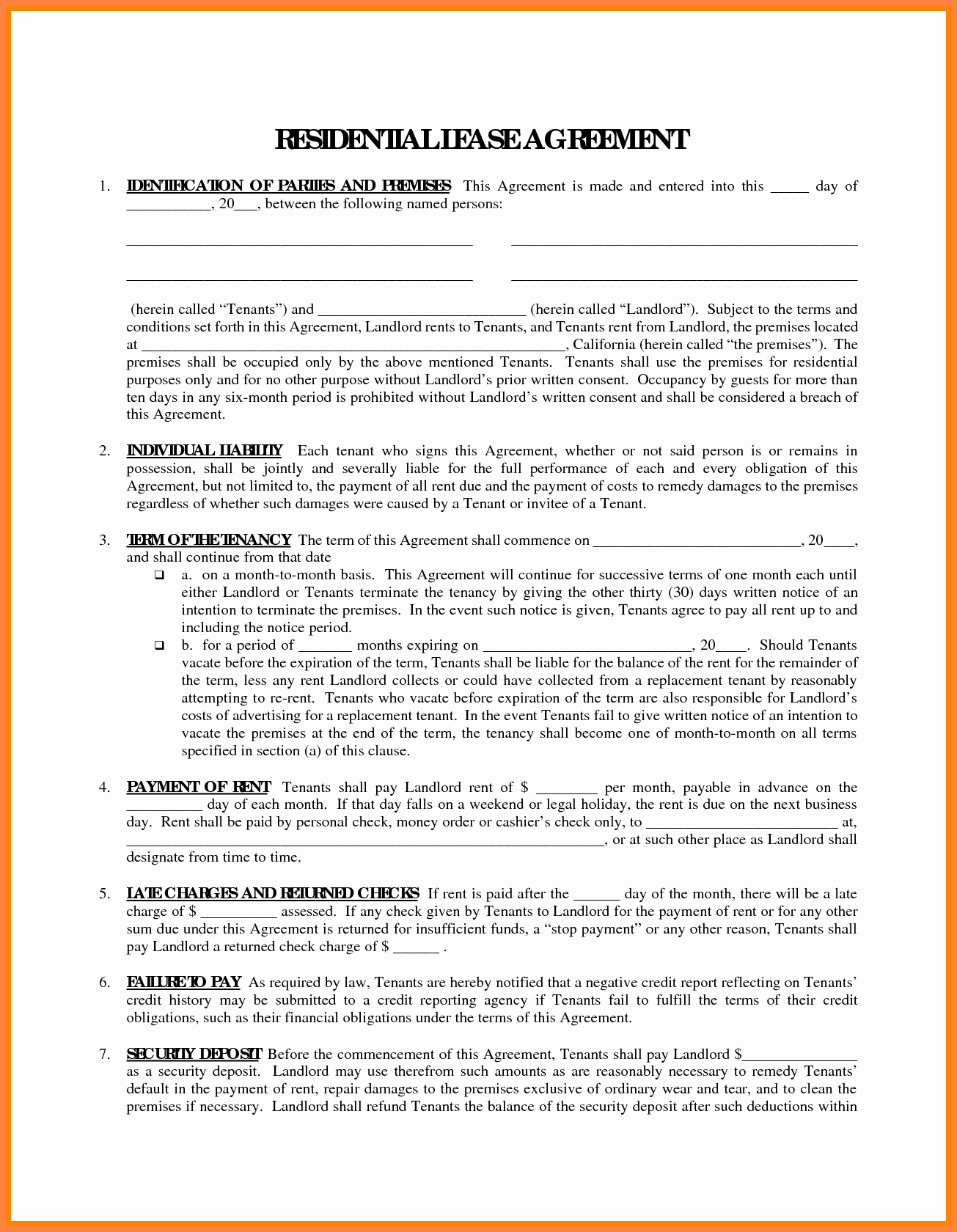 Fmcsa Sample Lease Agreement Awesome 7 Owner Operator Lease Agreement Template