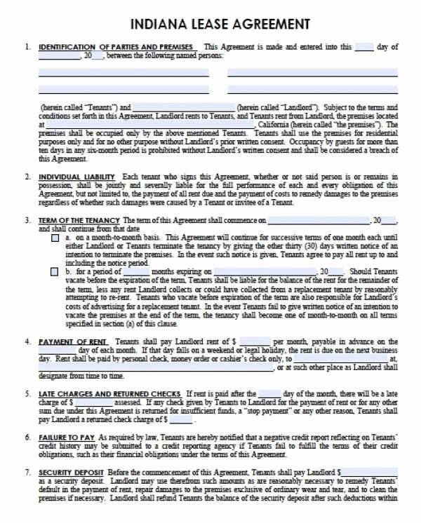 Fmcsa Sample Lease Agreement Inspirational Trailer Rental Agreement Template