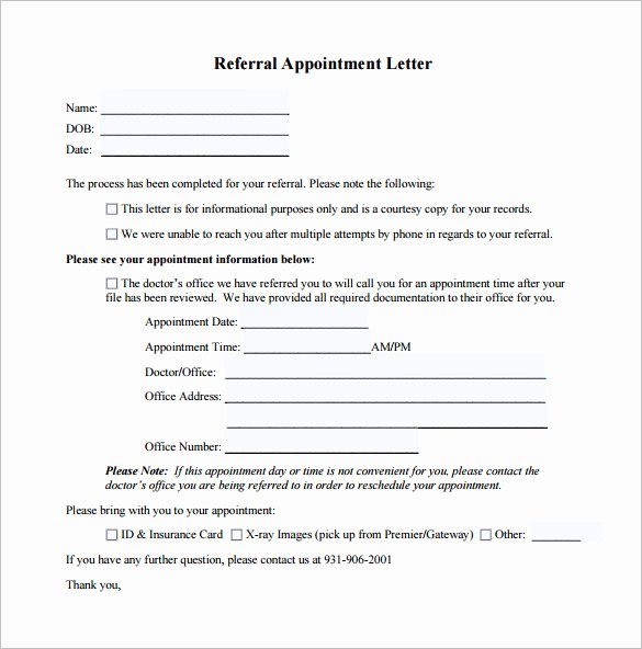 Follow Up Doctor Appointment Letter Beautiful 18 Doctor Letter Templates Pdf Doc