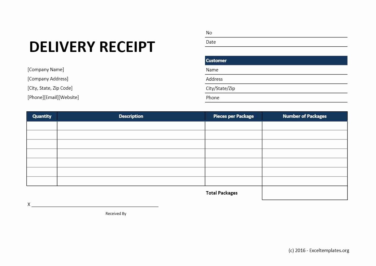 Foot Locker Receipt Template Inspirational Delivery Receipt Template Word Unique form Luxury 14