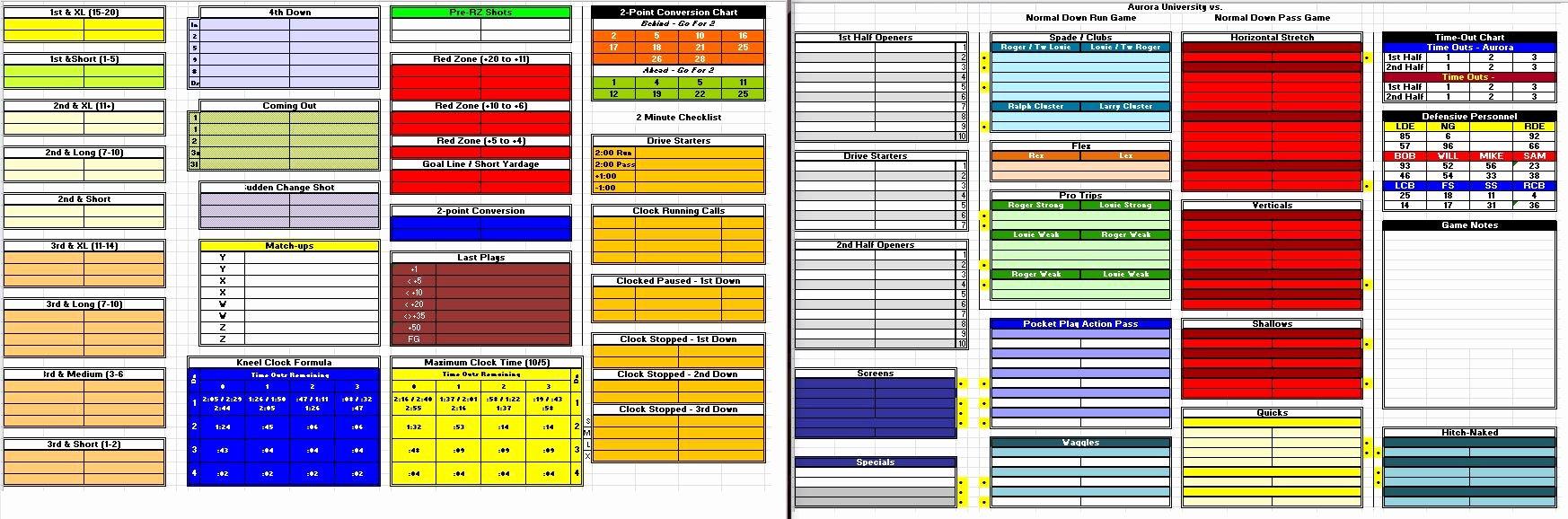 """Football Game Plan Template Elegant Rex Dickson On Twitter """"for Madden17 I M Going Full"""
