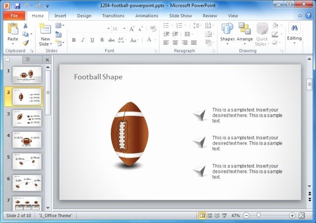 Football Game Plan Template Fresh Game Plan Powerpoint Templates for Sports and Strategic