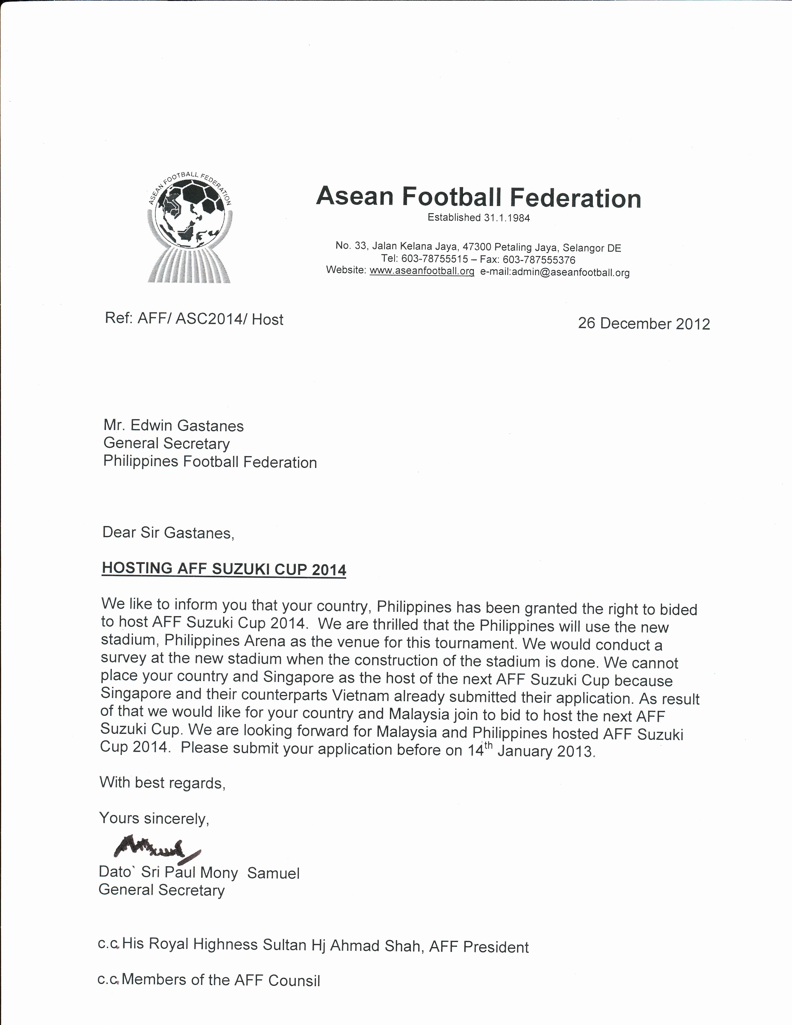 Football Match Invitation Letter format Best Of Application form Application Letter Dswd