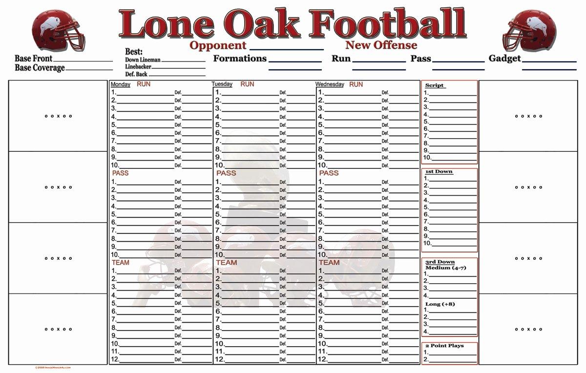 Football Practice Plan Template Beautiful High School Football Practice Plan Template