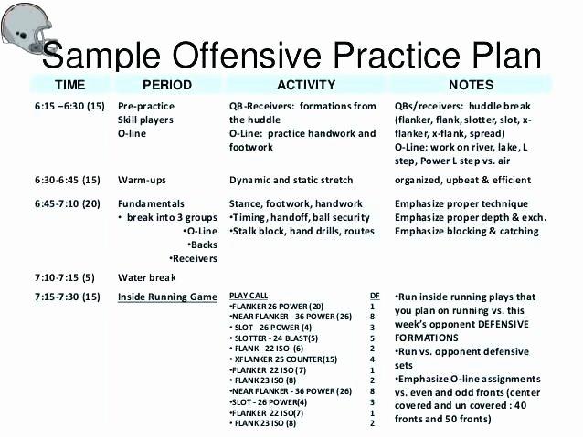 Football Practice Plan Template Excel Elegant Football Practice Template Excel Readleaf Document