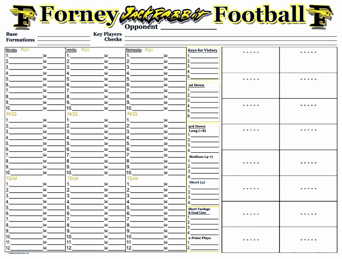 Football Practice Plan Template Excel Fresh 12 Youth Football Practice Plans Templates byooy