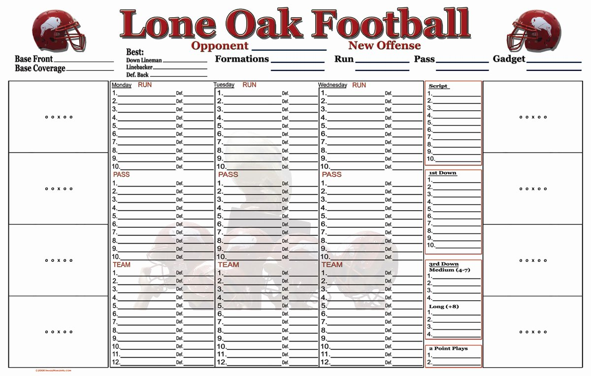 Football Practice Plan Template Luxury High School Football Practice Plan Template