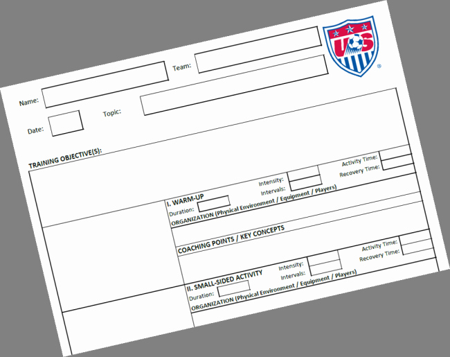 Football Session Plan Template Elegant 26 Of Blank soccer Session Plan Template