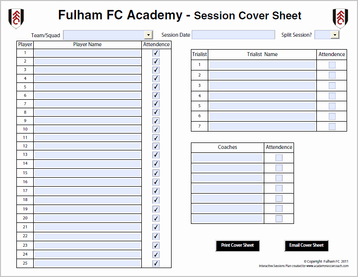 Football Session Plan Template Unique Interactive Session Plans™ Academy soccer Coach