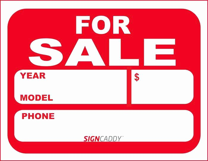 For Sale Word Template Elegant Car for Sale Sign Template Free Dealer Download Word Car