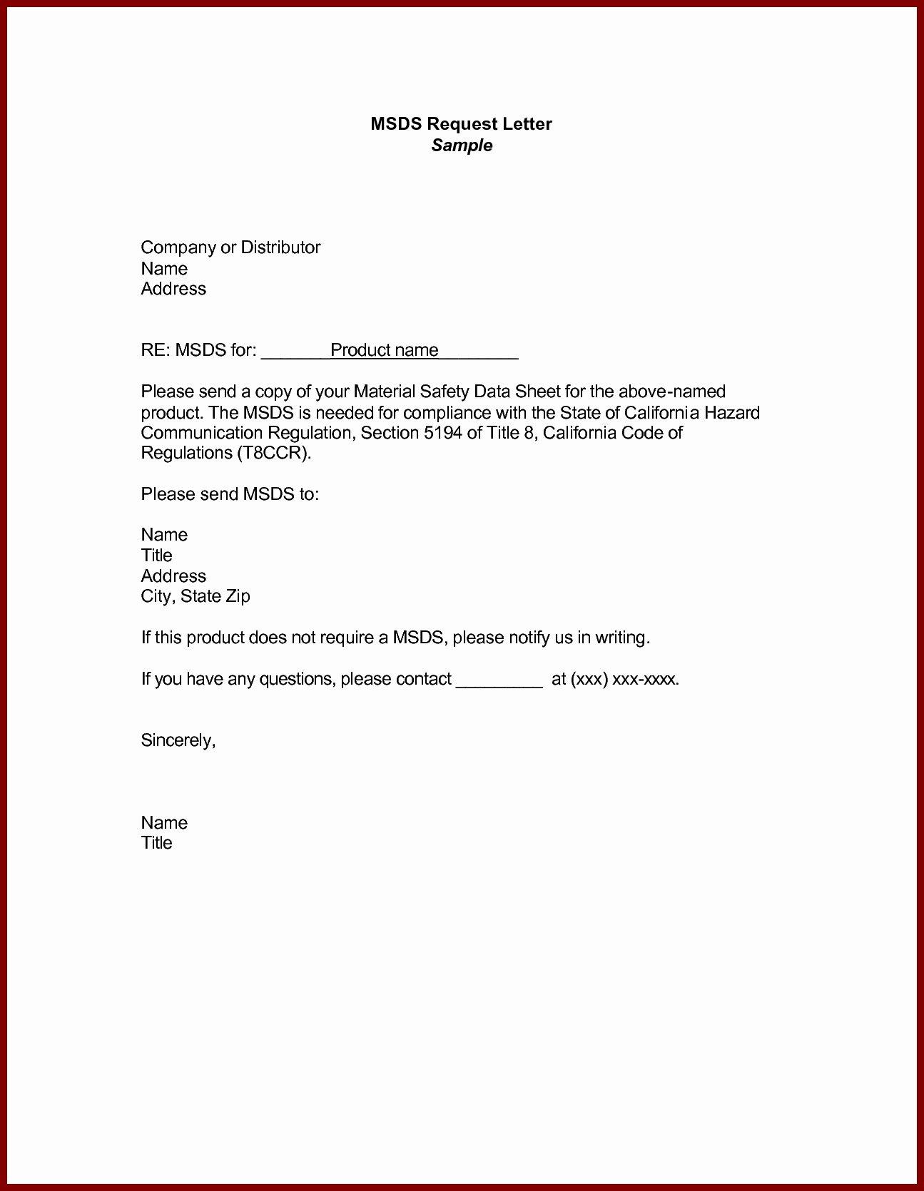 Formal Letter format for Request Elegant Business Letter Example Request