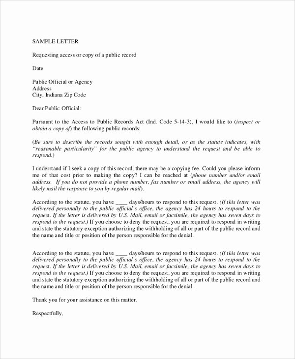 Formal Letter format for Request Inspirational 12 Sample formal Request Letters Pdf Word Apple Pages