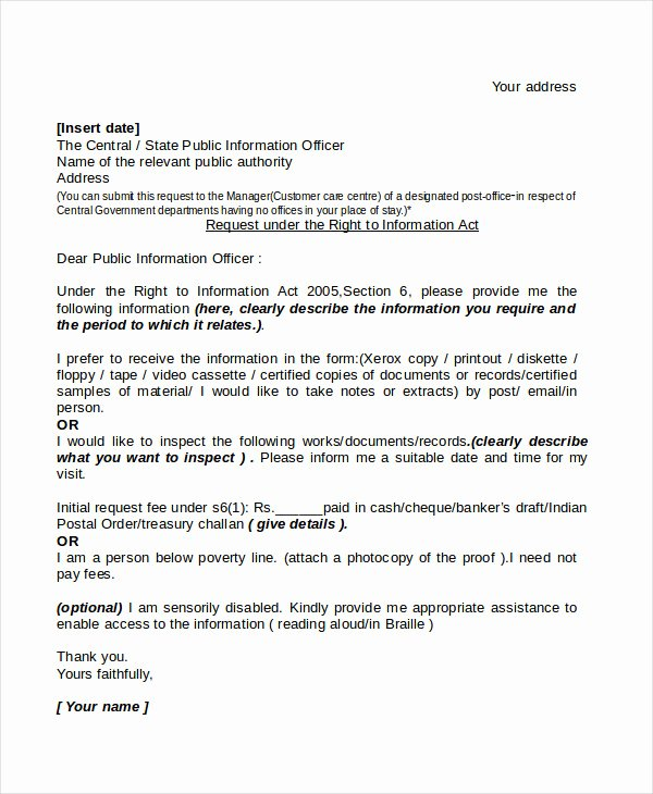 Formal Letter format for Request New 18 Request Letter Templates Pdf Doc