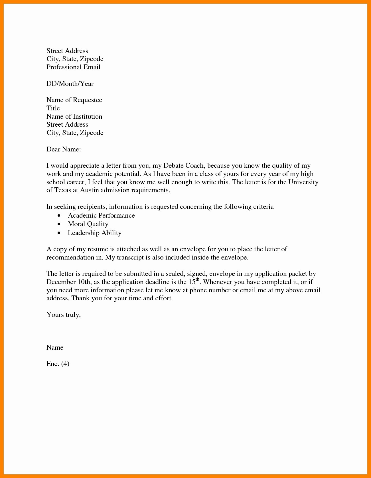 Formal Letter format for School Fresh formal Letter format for School Admission