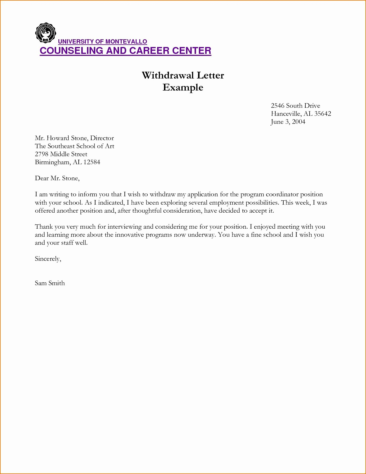 Formal Letter format for School Inspirational Letter format for School formal Leaving Certificate