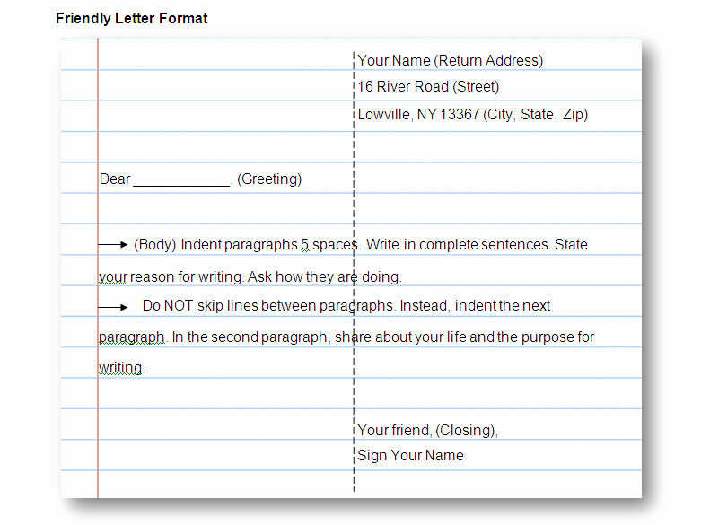 Format Of A Friendly Letter Best Of 6a00e54faaf86b F60bb33a970b