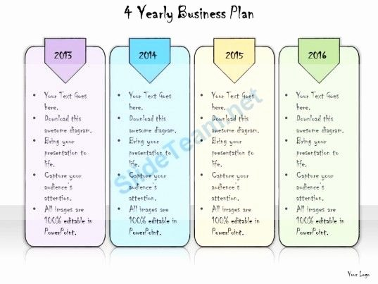 Four Year Plan Template Best Of 19 Best Hand Drawn Calendar Powerpoint Templates Slides